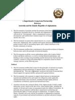 Australia-Afghanistan Partnership Agreement