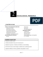 Week 2 - Chapter 2 - Sociological Research