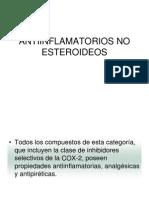 Antiinflamatorios No Esteroideos2