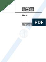 NBR 66 Iso Iec Guia 66 - Requisitos Gerais Para Organismos Que Operam Avaliacao E Certificac