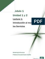 LECTURA 1 Introduccion Al Mundo de Los Servicios