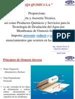 Tratamiento y Control de Osmosis Inversa - Programa AQA Rev2
