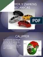 Calipper y Zapatas Mecanicas