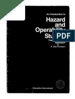 Intro to Hazard & Operability Studies