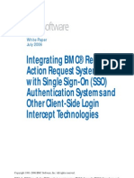 Integrating BMC Remedy Action Request System With Single Sign-On (SSO) and Other Client-Side Login Intercept Technologies