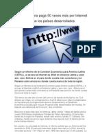 Conectividad en Uruguay y América Latina