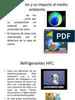 Refrigerantes y Su Impacto Al Medio Ambiente