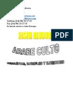 3816335 Metodo Para Aprendizaje de Arabe Culto