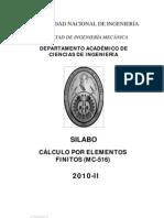 silabo MC516