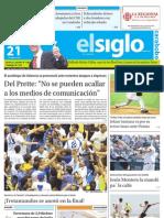 Edicion Lunes Carabobo 21-05-2012