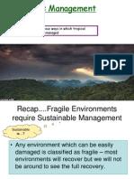 Rain Forests Management