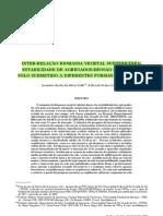 INTER-RELAÇÃO BIOMASSA VEGETAL SUBTERRÂNEA-ESTABILIDADE DE AGREGADOS-EROSÃO HÍDRICA EM NSOLO SUBMETIDO A DIFERENTES FORMAS DE MANEJO(1)