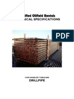 Drill Pipe Performance Data