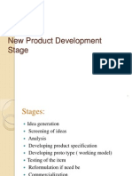 New Product Development Stage Made by Jp