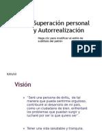 Superación personal y Autorrealización