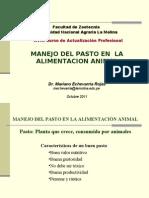 Echevarria Manejo Del Pasto en Alimentacion Animal Con Fotos