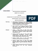 Pm._no._32_tahun_2011 Ttg Standar Dan Tata Cara Perawatan Prasarana PErkeretaapian