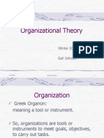 Org Theory Core
