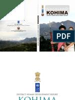 KOHIMA District Human Development Report