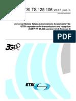 ETSI Standard UMTS Band