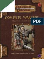 [D&D 3.0e - Eng] Manuale Del Perfetto Combattente