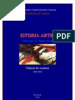 Istoria Artei. Materia de Examen