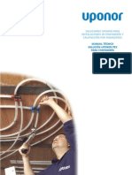 Manual Tecnico Uponor PEX Para Fontaneria