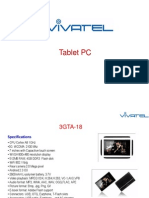 Vivatel Tablet March 2012