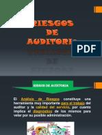 Riesgos y Evidencia de Auditoria