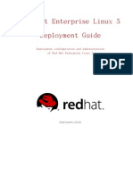 Red Hat Enterprise Linux 5 Deployment Guide Zh TW