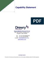 Drewry Capability Statement