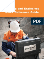 Blasting and Explosives Quick Reference Guide 2011