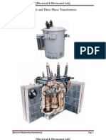 Single Phase & Three Phase Transformer