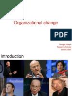 Organizational Change_George Joseph