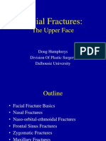 Facial Fractures - The Upper Face