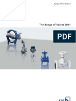 KSB the Range of Valves 2011