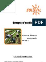 Création d'entreprise - SOLEIL 2
