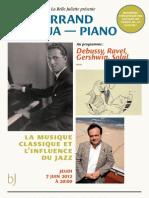 Concert Piano Eric N'Kaoua - Belle Juliette - 7juin 2012