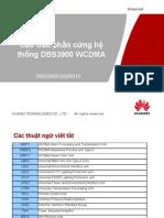 Cau Truc Phan Cung DBS3900 WCDMA
