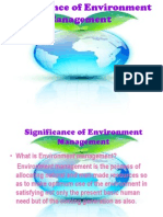 1 Significance of Environment