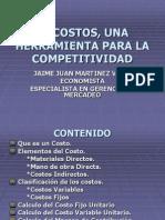 El Costos, Una Herramienta Para La Competitividad