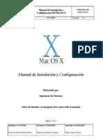 Manual de Instalación MacOS X