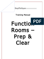 Training Manual Function Rooms