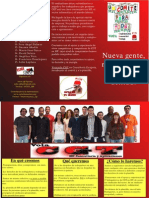 Triptico CGT Zaragoza - Elecciones HP Consultoría