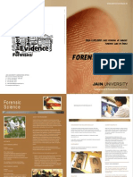 Forensic Science Brochure