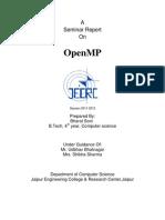 Openmp Report