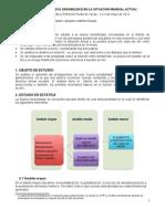 ESTUDIO DE LA NUEVA SENSIBILIDAD EN LA SITUACIÓN MUNDIAL ACTUAL