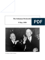 Robert Schuman Declaration 9 May 1950