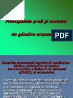 Tema 1 - Principalele Scoli Si Curente de Gandire Economica