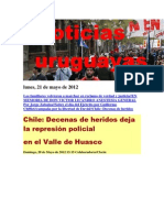 Noticias Uruguayas Lunes 21 de Mayo 2012
